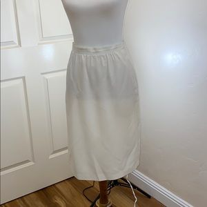Vintage Ms. Jennifer Petite Lined Skirt 8P
